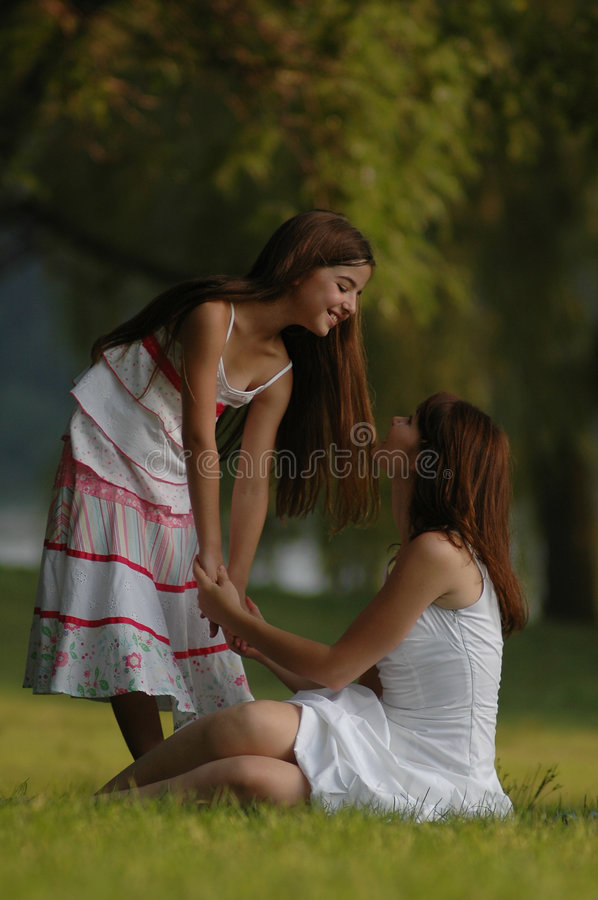 Download Mother And Daughter Happy Stock Photo - Image: 1721590