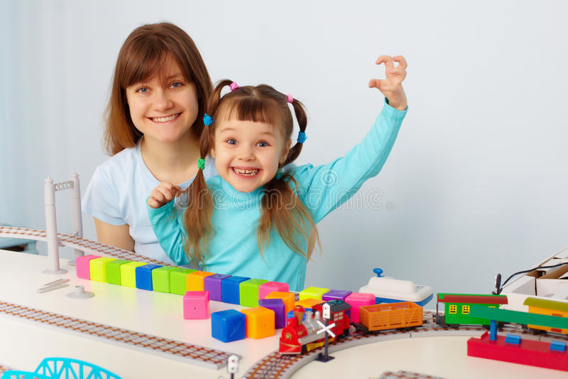 Download Mother And Daughter Having Fun Stock Photo - Image of portrait, jolly: 18602734