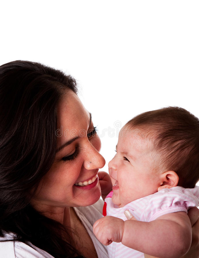 Download Mother And Daughter Having Fun Laughing Stock Photography - Image: 14130372