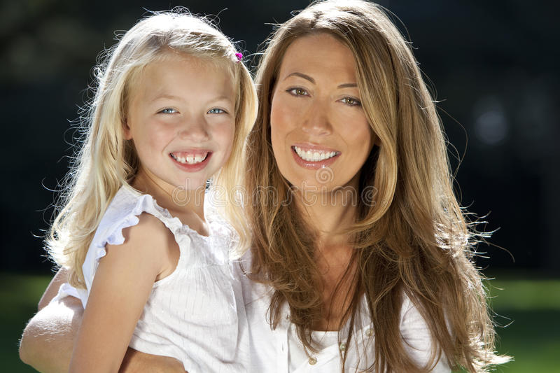 Download Mother With Daughter Having Fun In A Park Stock Image - Image: 11137157