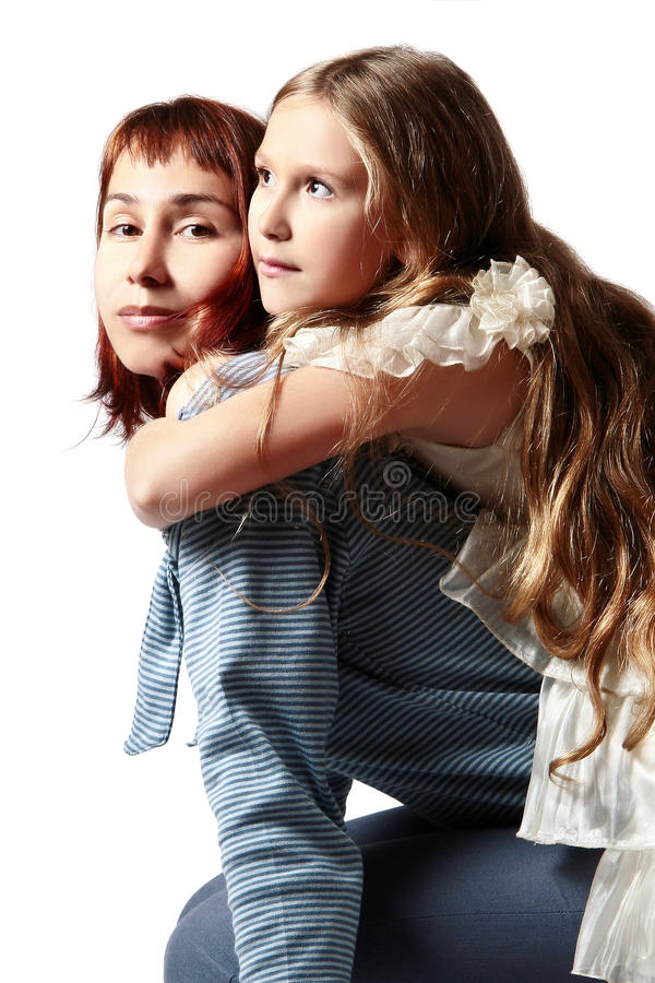 Download Mother And Daughter Hugging Stock Photography - Image: 13058992
