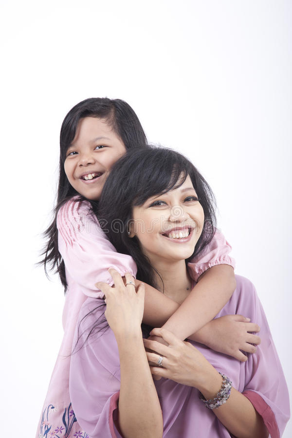 Download Mother And Daughter Hugging Stock Photo - Image: 21713506