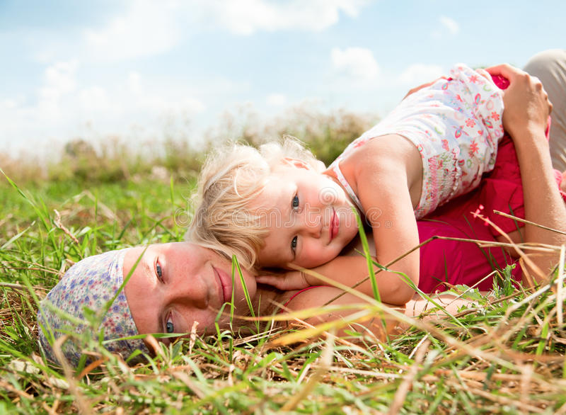 Download Mother With Daughter Outdoors Stock Photo - Image: 15681614