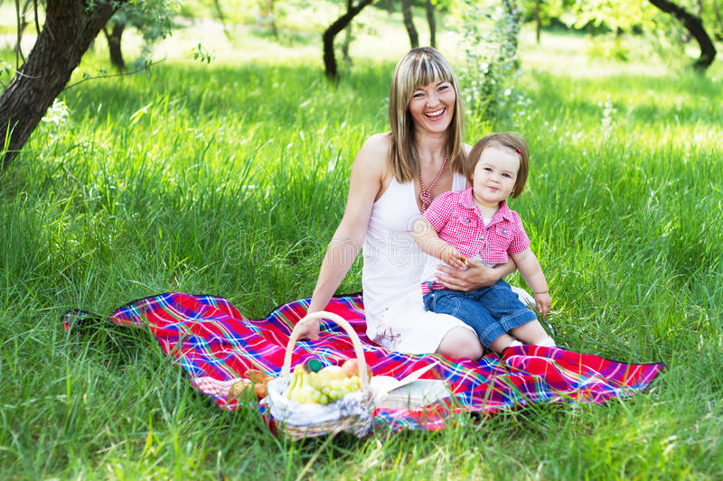 Download Mother With Daughter Outdoors Stock Image - Image: 19791605