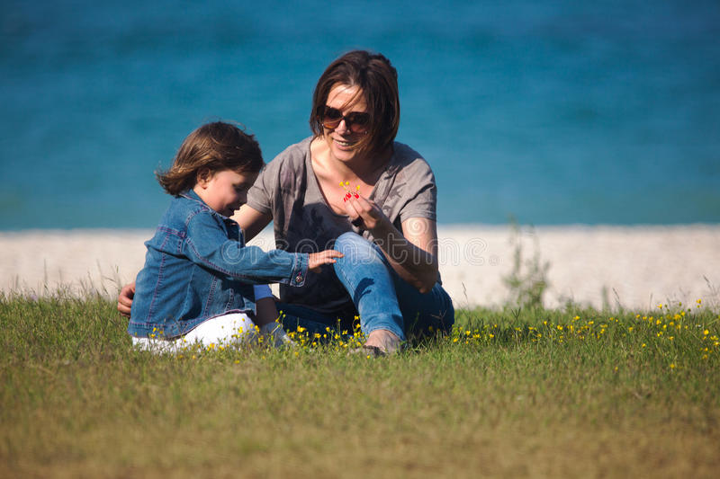 Download Mother And Daughter Playing Royalty Free Stock Photos - Image: 25102788