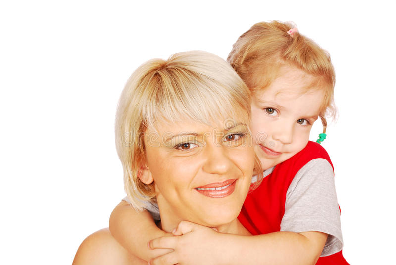 Download Mother and daughter posing stock image. Image of people - 15458399