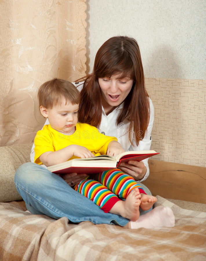 Download Mother And Daughter Reading  Book Stock Photo - Image: 23682500