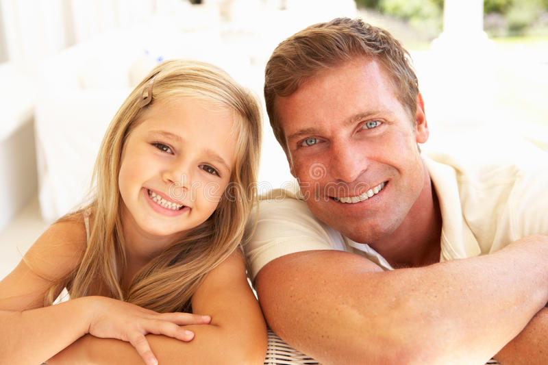 Download Mother And Daughter Relaxing Together On Sofa Stock Image - Image of parent, camera: 14925615