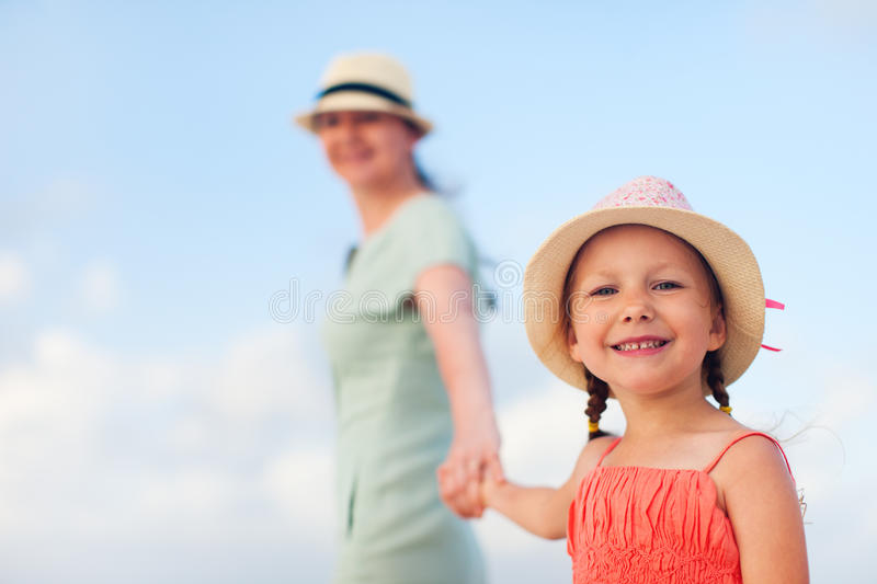 Download Mother And Daughter On Vacation Stock Image - Image: 34356099