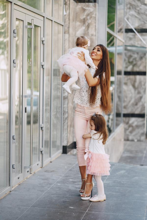 Download Mother with daughter stock image. Image of face, casual - 107018889