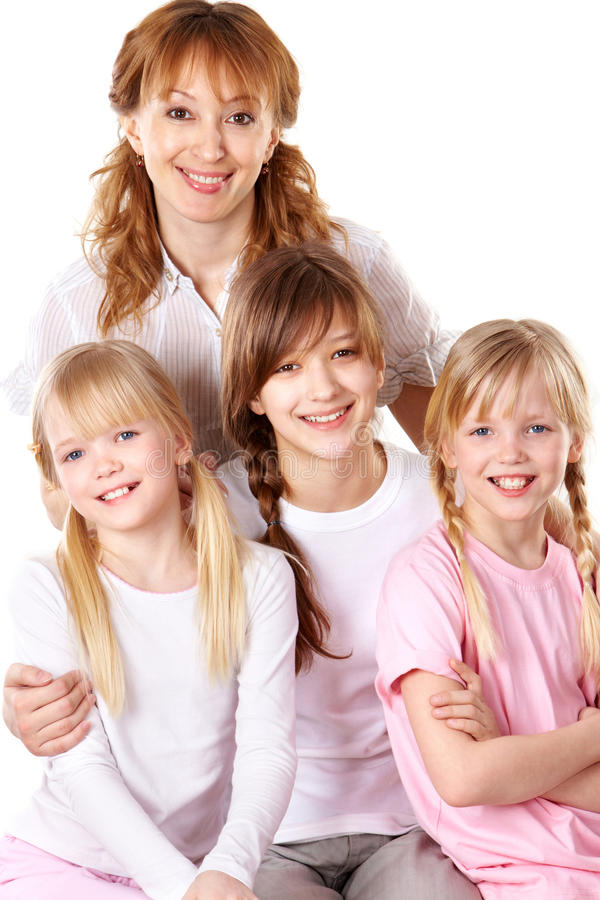 Mother And Daughters Stock Photos