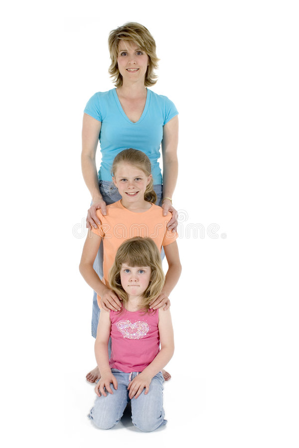 Free Mother Daughters Royalty Free Stock Photos - 732608