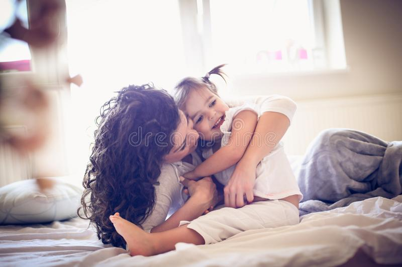 Mother and daughters love. royalty free stock images