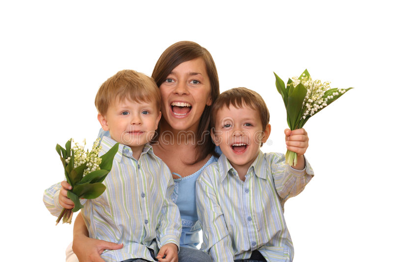 Mother Day stock photography