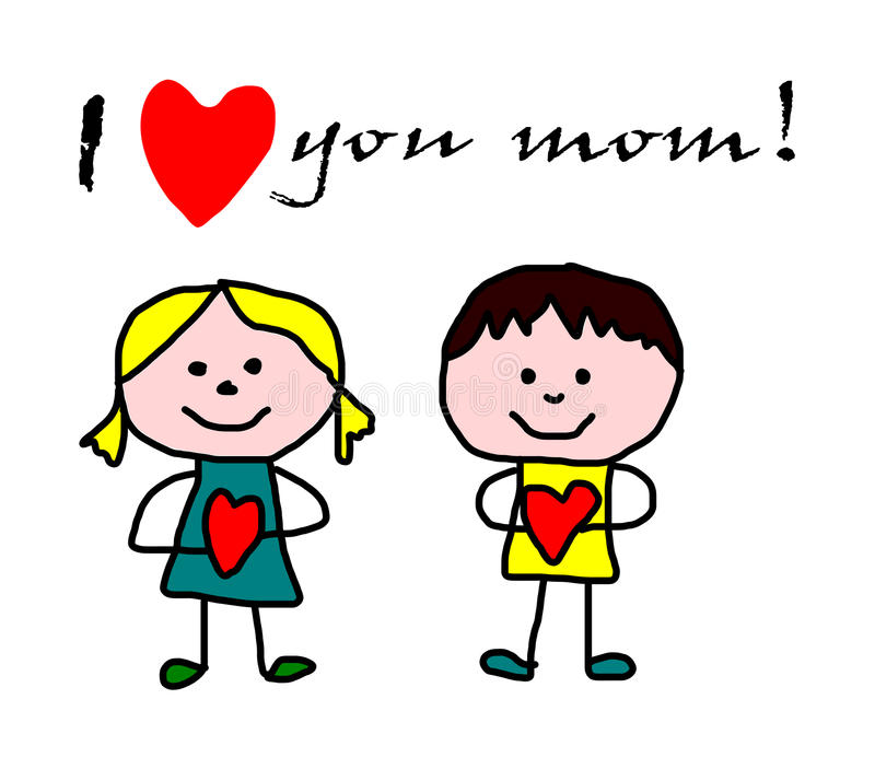 Mother day greeting card stock illustration illustration of heart download mother day greeting card stock illustration illustration of heart 50844448 m4hsunfo