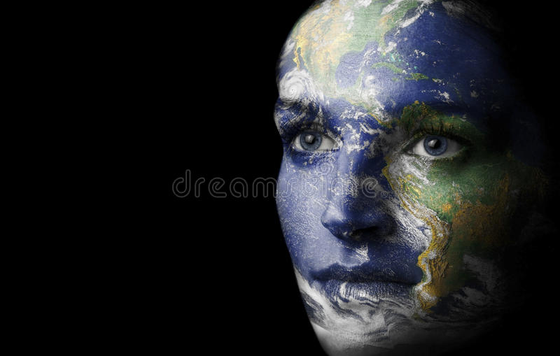 Download Mother earth stock illustration. Illustration of future - 19637988