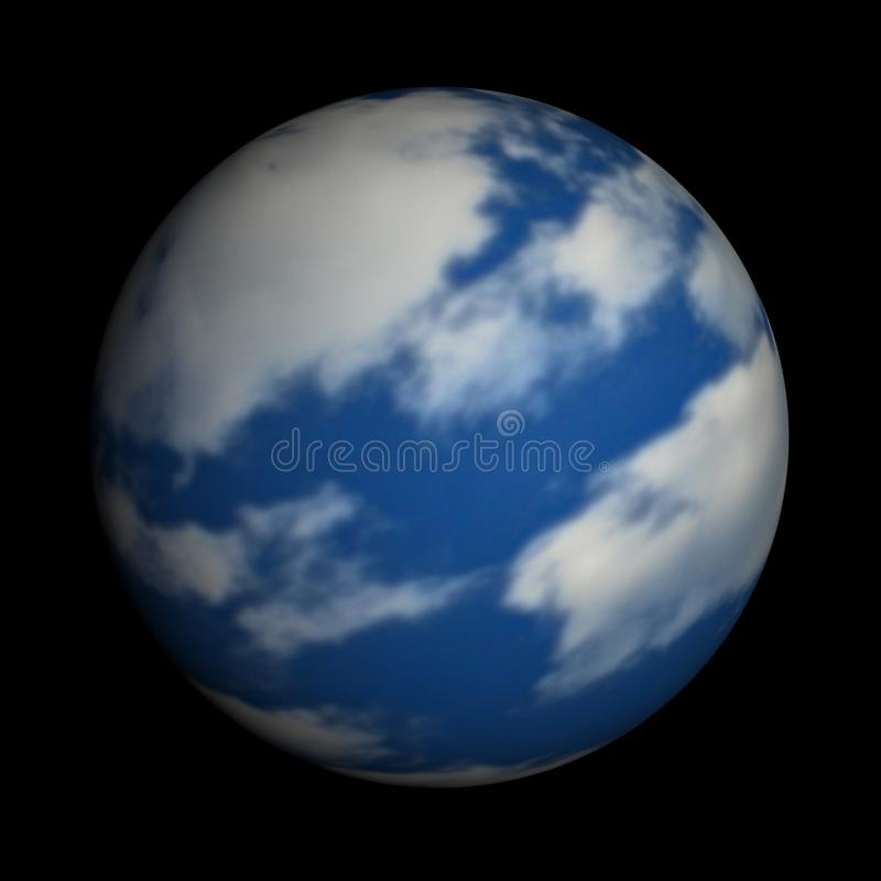 Download Mother Earth On A Black Background Stock Images - Image: 15573594