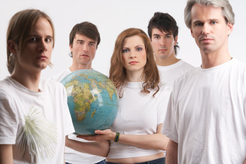 Download Mother Earth In The Middle Stock Photography - Image: 2482652