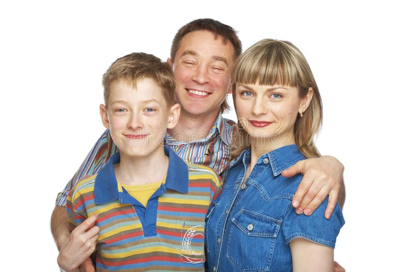Download Mother, father and son stock image. Image of caucasian - 9861685