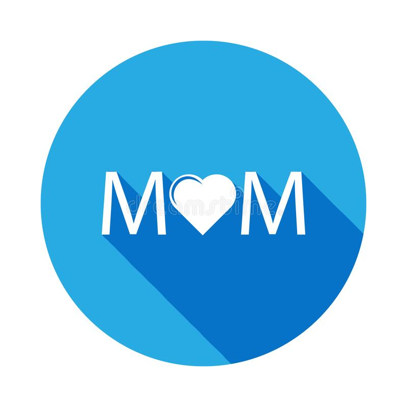 mother heart icon. Element of mothers day icon. Premium quality graphic design icon. Signs and symbols can be used for web, logo, stock illustration