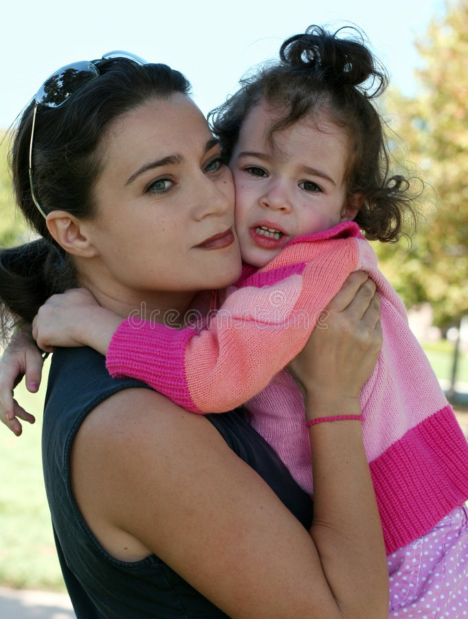 Download Mother And Her Crying Daughter Stock Photo - Image: 8829180