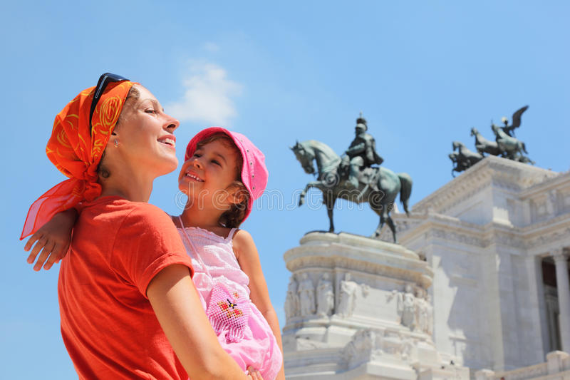 Download Mother Is Holding Daughter, Equestrian Monument Royalty Free Stock Photo - Image: 18361665