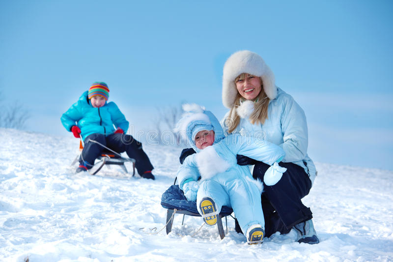 Download Mother And Kids Stock Photo - Image: 23109630