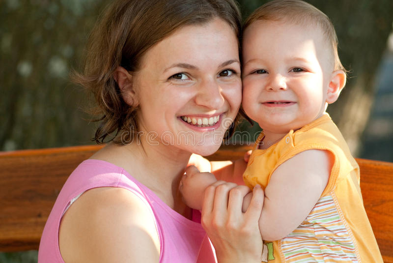 Download Mother loves her baby stock photo. Image of mother, people - 10277466