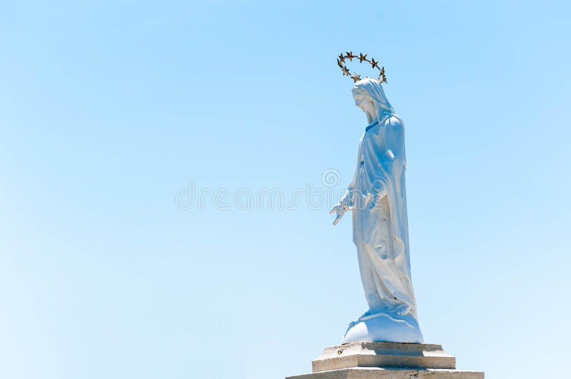 Mother Mary. Statue of the Mother Mary royalty free stock photos