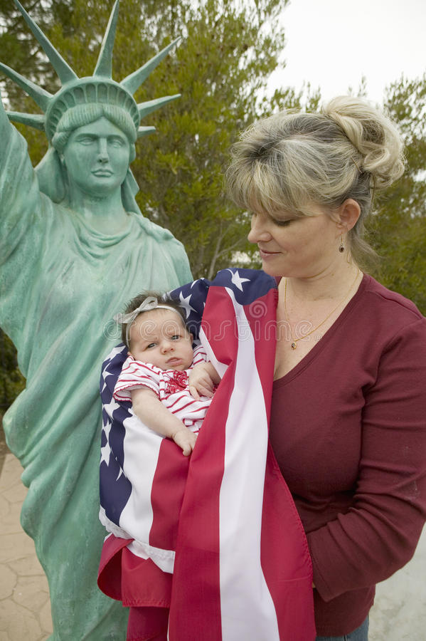 Download Mother and newborn baby editorial stock image. Image of american - 25968614