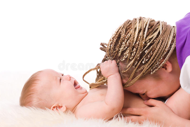 Download Mother Playing With Baby Stock Images - Image: 11340864