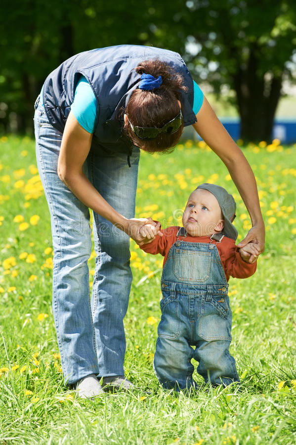 Download Mother Playing With Child Boy Stock Image - Image: 24763955