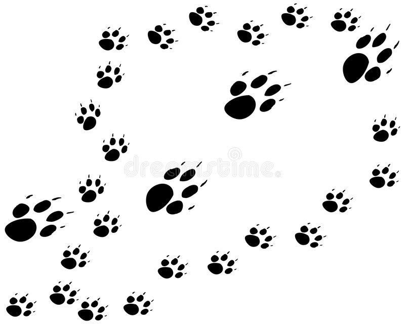 Download Mother and pups stock vector. Illustration of follow, puppy - 1796340