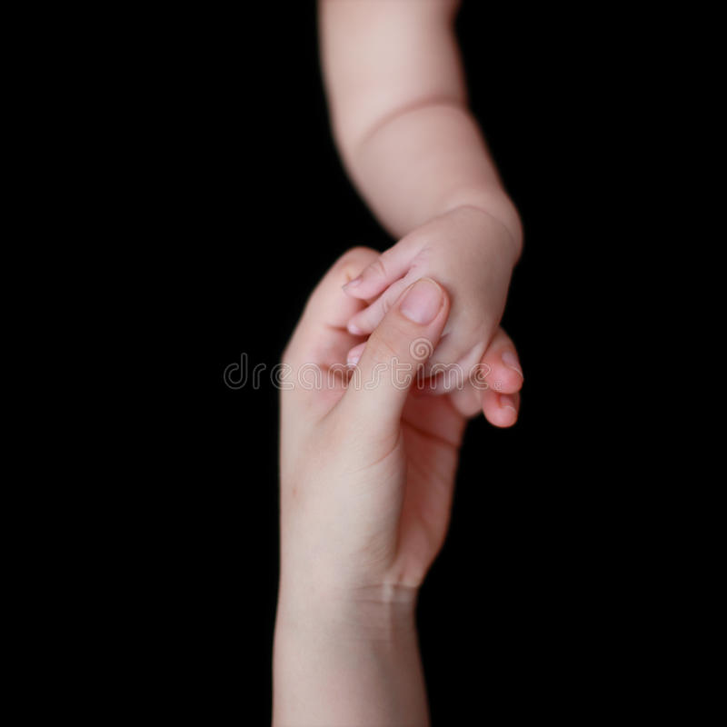 Download Mother's And Baby's Hands Royalty Free Stock Photo - Image: 22565845