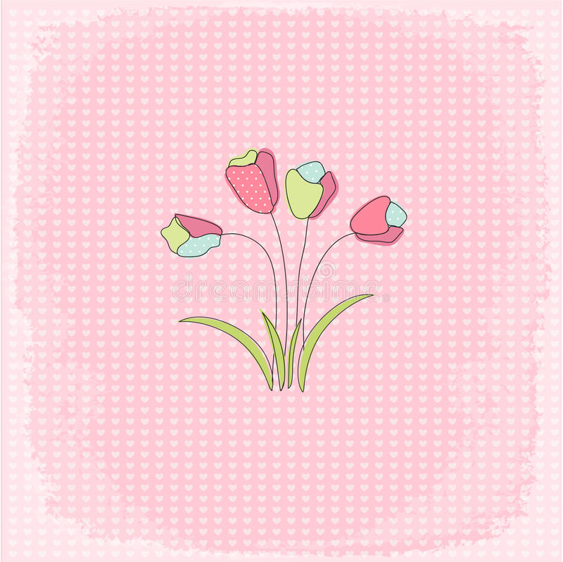 Download Mother's Day stock vector. Illustration of holiday, floral - 24625497