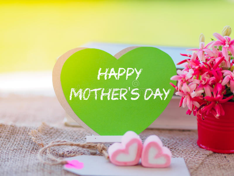 Mother`s day concept. stock photography