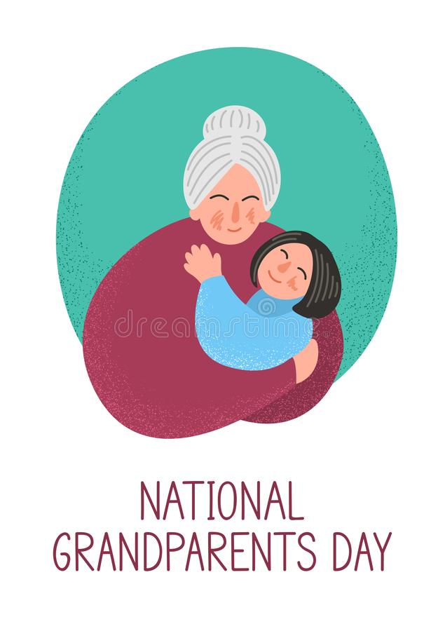 Mother`s Day. Mother with girl reading book vector illustration