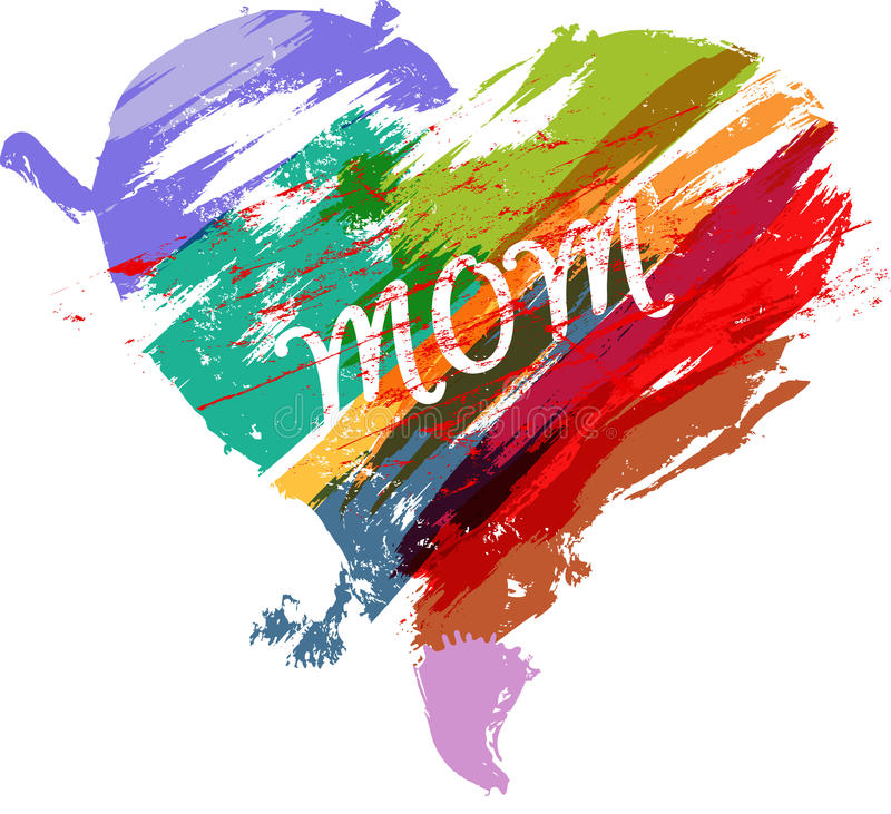 Mother's day stock illustration