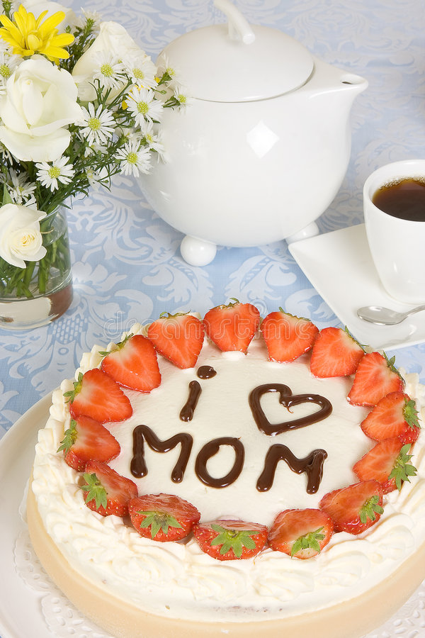 Download Mother's day pastry stock photo. Image of beautiful, mother - 8540388