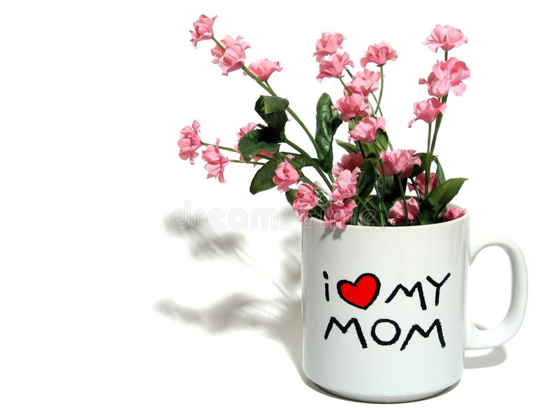 Mother's Day Sentiment royalty free stock image
