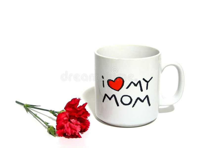 Mother's Day Sentiment stock images