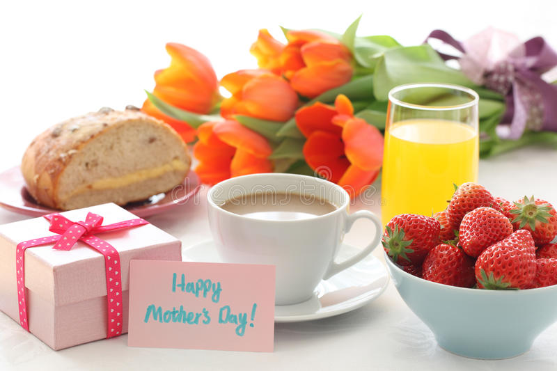 Mother's day table royalty free stock images