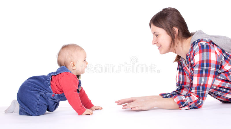Download Mother's love stock image. Image of female, mother, adult - 19018449