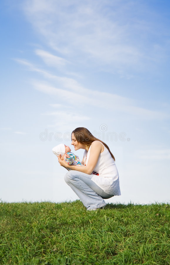 Mother's love 2 stock image