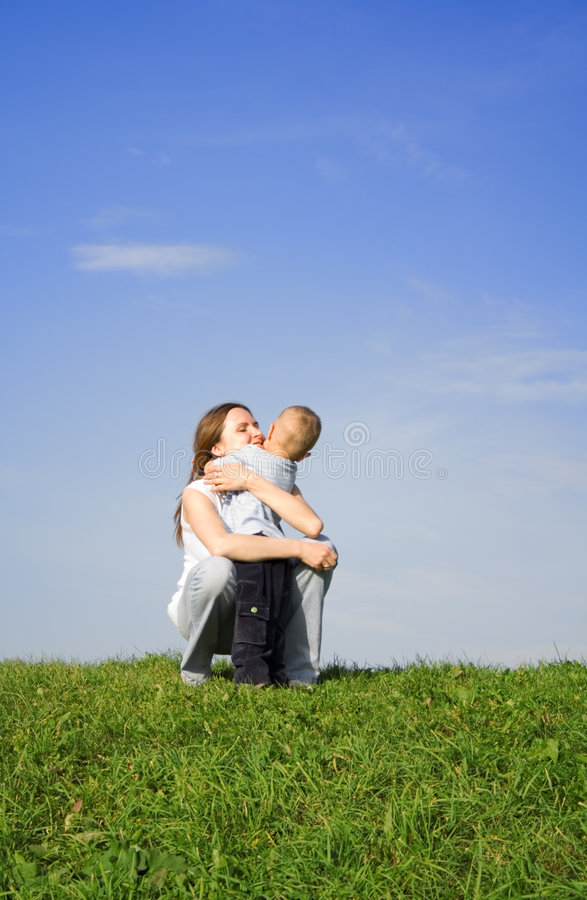 Mother's love 4 royalty free stock photography