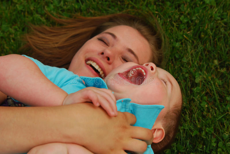 Download Mother and son stock image. Image of cute, girl, smile - 11320099