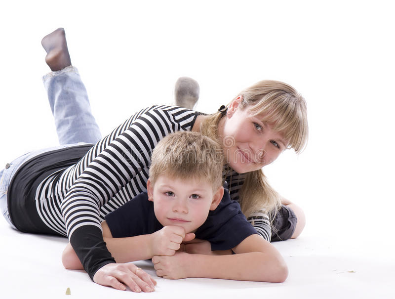 Download MOTHER AND SON Stock Images - Image: 12043924