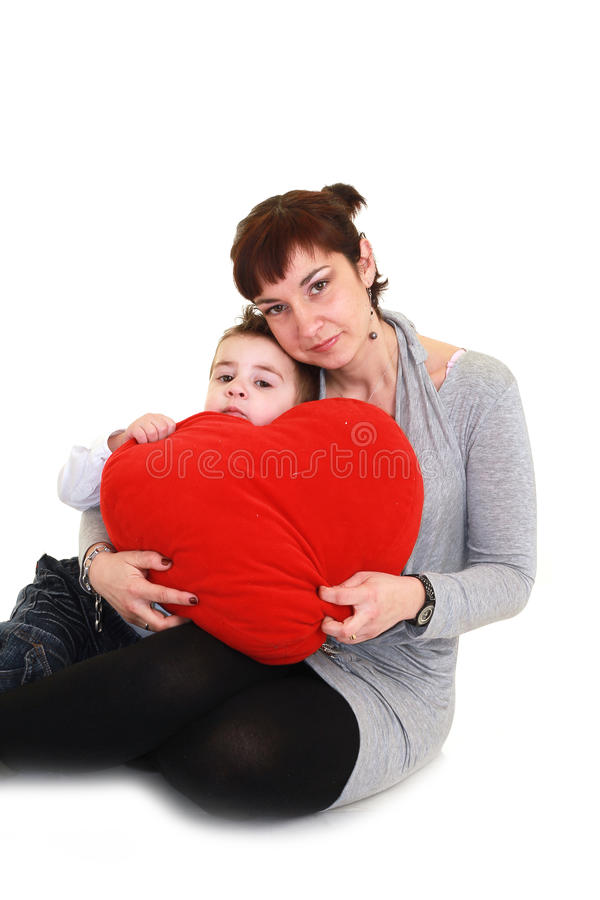 Download Mother and son stock photo. Image of attractive, happy - 13407362