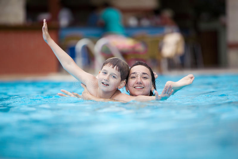 Download Mother and son stock image. Image of childhood, heat - 15593825