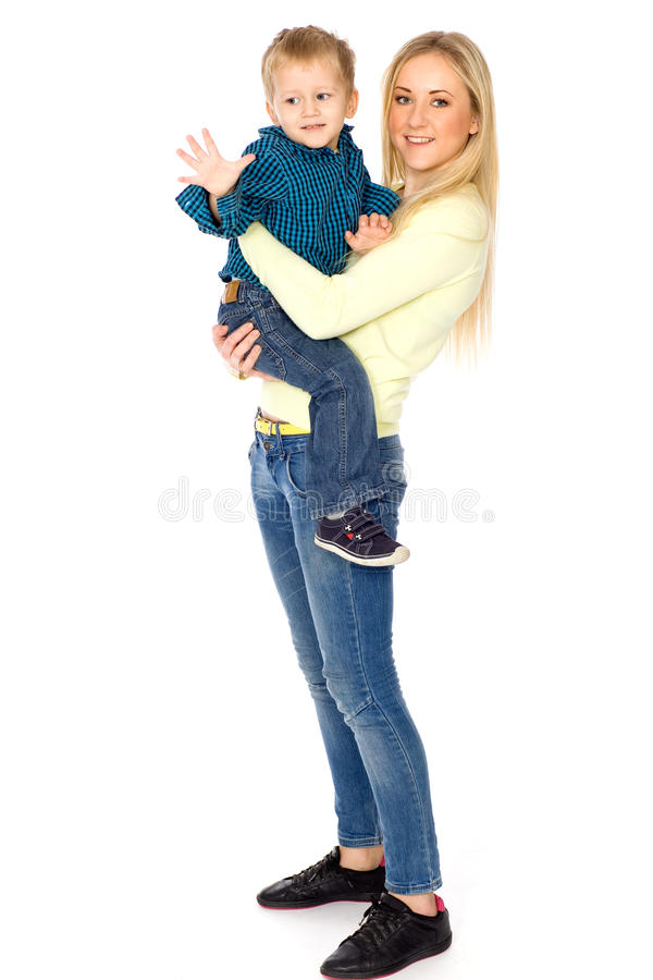 Download Mother And Son Royalty Free Stock Photos - Image: 18025548